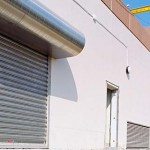 Roll down security shutters
